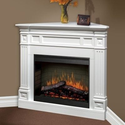 Small electric heater and Modern mantle
