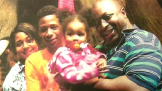 Eric Garner pictured in a family photo. In the wake of several high-profile cases involving black Americans killed after encounters with the police, writers Stacey Patton and David J Leonard examine why blame is often shifted to the deceased