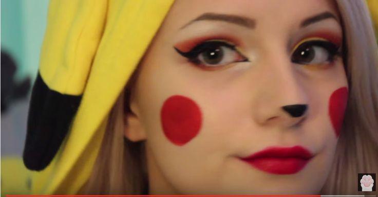 Pikachu fancy dress makeup by Pastel Kitten https://youtu.be/oNp38FYbixo?list=PLGb3tIsHjIh4QVDcfvMiAgYi3NF_H-fgp