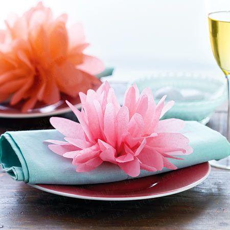 Papierblumen basteln - so geht's - papierblumen-basteln