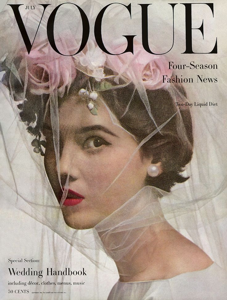 Freshly picked from the Vogue Archive, timeless inspiration for wedding flowers.
