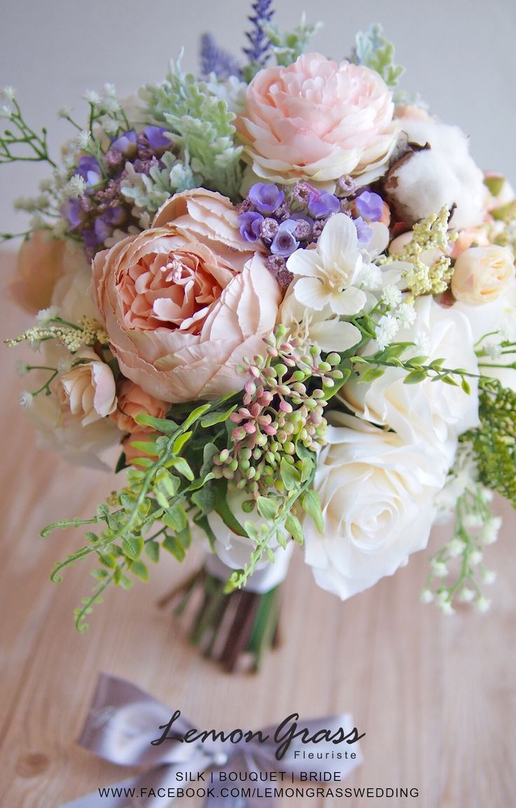 79 best Silk Flower Bouquets images on Pinterest | Silk flower ...