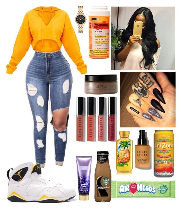 """"""""""" by slaybxby ❤ liked on Polyvore featuring philosophy, Moschino, MICHAEL Michael Kors, Bobbi Brown Cosmetics, Retrò and Victoria's Secret"""