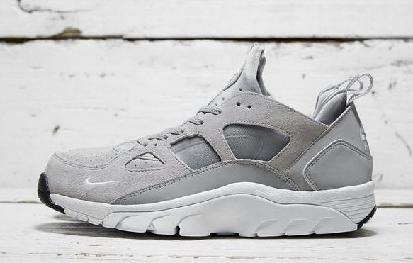 Nike Air Trainer Huarache Low Grey. Available now.  http://ift.tt/1fQYVpY