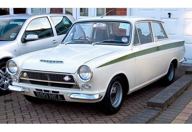 We had one of these in brown Ford Lotus Cortina (1963-1970)  The Cortina was Ford of England's Fairlane
