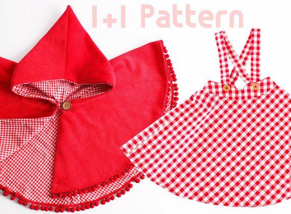 Girl's dress/ 11 Kid's sewing pattern pdf/ Kid's par hellodearkids
