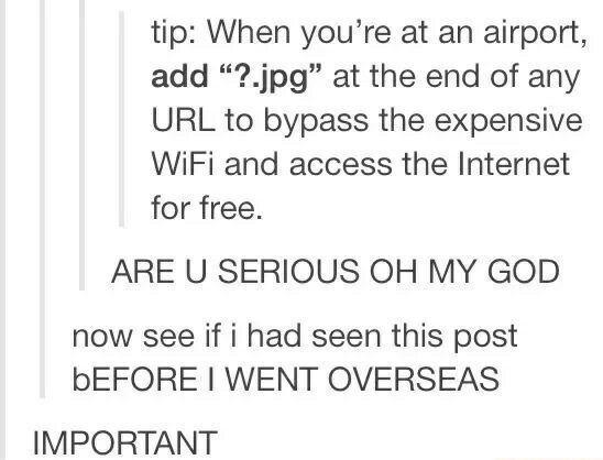 Flughafen WiFi – Tumblr