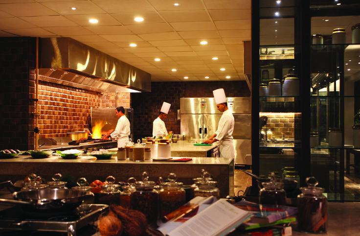 The restaurant at Alila Diwa Goa