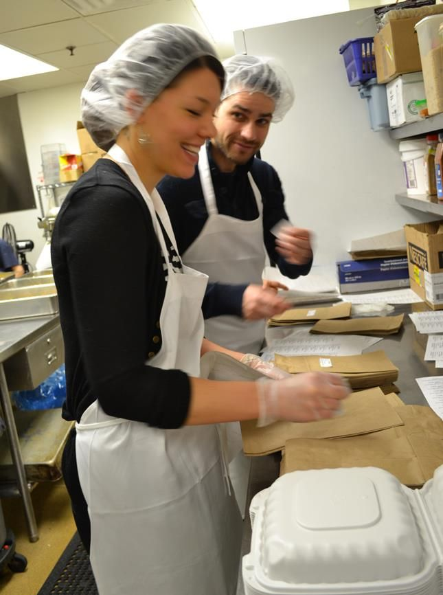 Our friends at Media Experts volunteered to serve lunch to our youth today. They also packed bagged lunches for the kids heading out for school or work tomorrow. Thank you, Media Experts!
