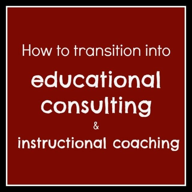How to become an educational consultant | The Cornerstone