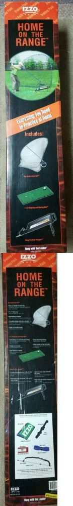 Other Golf Equipment 181155: Izzo Home On The Range Everything You Need To Practice At Home Golf Set -> BUY IT NOW ONLY: $99.99 on eBay!