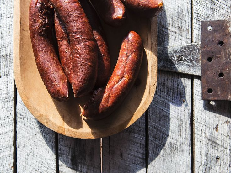 Roughly speaking, a half-smoke is a coarsely ground and smoked half-beef, half-pork sausage seasoned with red pepper flakes. But even those basic parameters are up for debate. What we can say: the half-smoke is a DC icon worth getting to know.