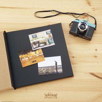 Álbum de fotos artesanal. Gran formato