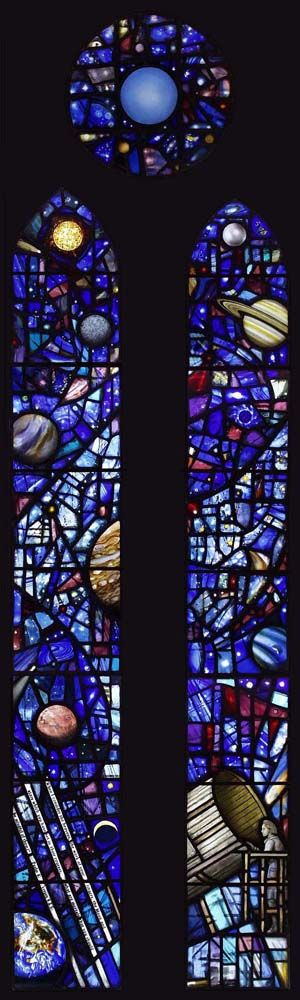 Herschel Window I Architectural stained glass | ANDREW TAYLOR- FMGP