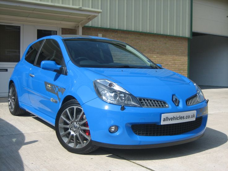 2007 Renaultsport Clio 197 F1 Team R27 French Racing Blue
