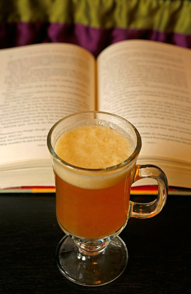 A recipe for Pumpkin Juice fromHarry Potter by The Geeky Chef. The favorite beverage of wizard and witches everywhere!