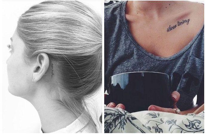 vrouwelijke tatoeages