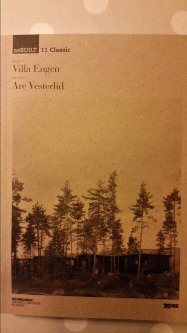 """Boken om """"Villa Engen"""". Arkitekt Are Vesterlid."""