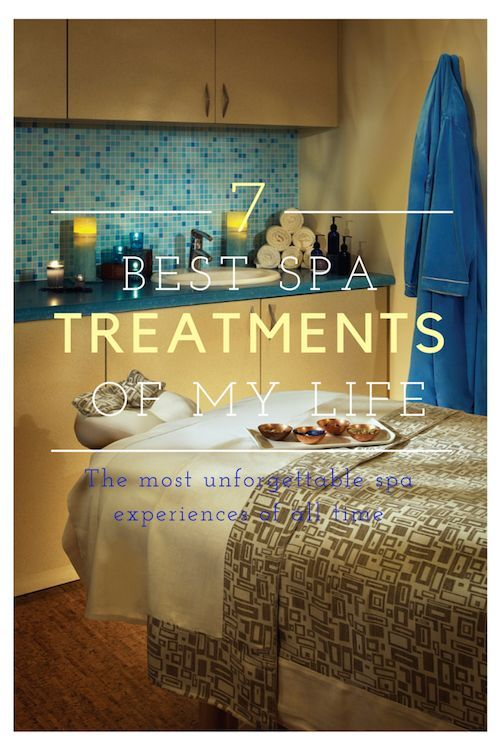 The 7 greatest #spa experiences of my life. From WanderWithWonder.com