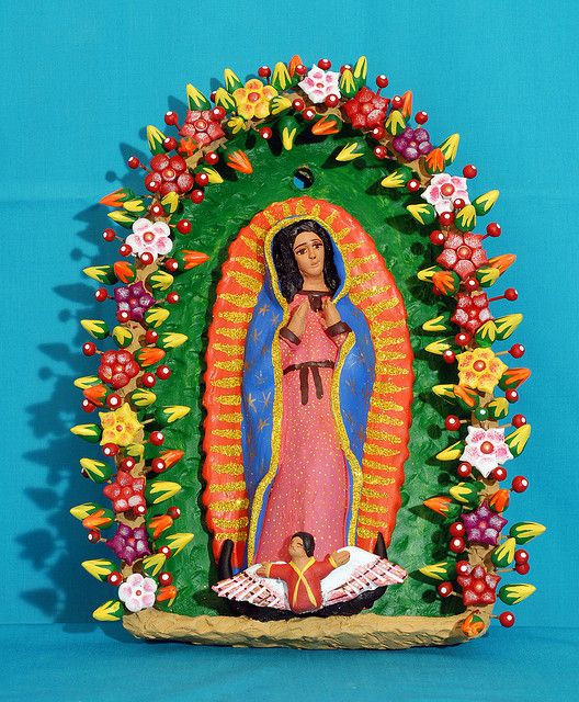 114 best our lady of guadalupe cool stuff images on for Oaxaca mexico arts and crafts
