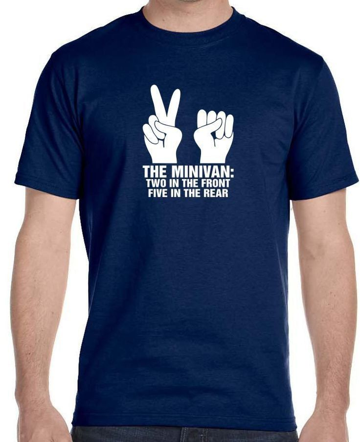 Funny Offensive Shirt Gag Gifts Sex College Humor Minivan Shocker Men's T-Shirt