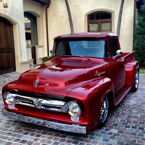 1956 Ford. Check out Facebook and Instagram: @metalroadstudio  Very cool!