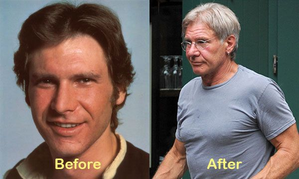 Aging... Harrison Ford