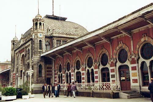 Sirkeci Station Istanbul, Turkey