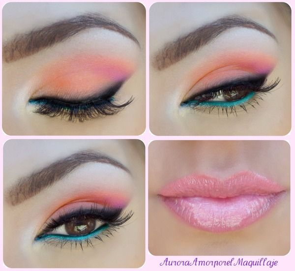 Summer times makeup