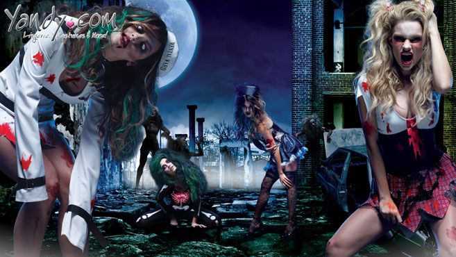 Bring on the Zombie Apocalypse early this Halloween, and make it hot with our collection of insanely sexy costumes.