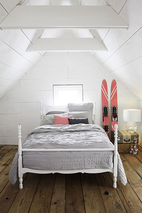 476 Best Attic Spaces Images On Pinterest Bedrooms