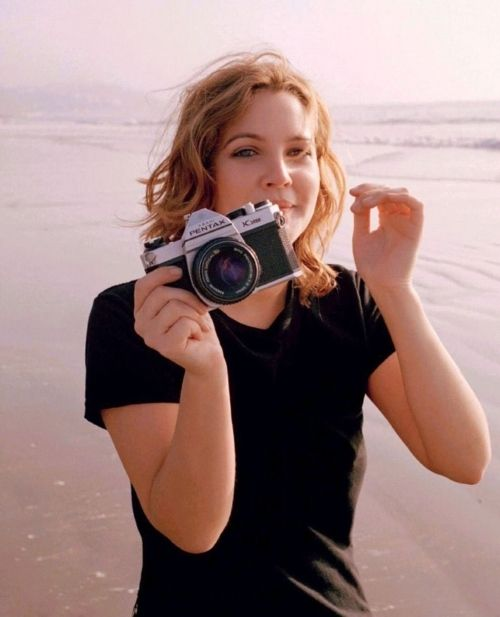 Drew Barrymore - I love how cool she is without even trying.