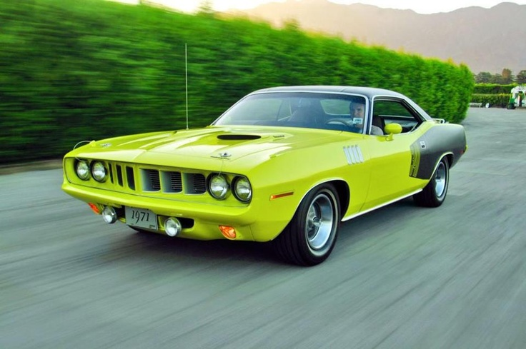 Curious Yellow 1971 Plymouth 'Cuda | Mopar and Misc Muscle cars | Pinterest | Plymouth and Yellow