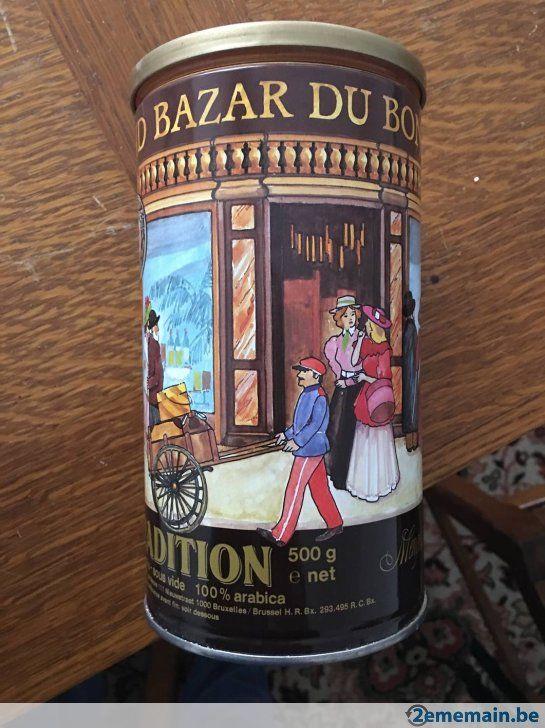 Boite en Fer - grand Bazar - A vendre