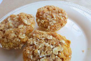 Hubbard Squash - Oatmeal Muffins