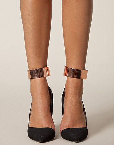 Rose Gold Ankle Cuffs