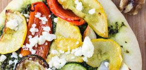 Grilled Vegetable Flatbreads recipe