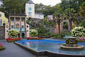 Portmeirion, wales. Italian Village. Must see hidden gems in UK