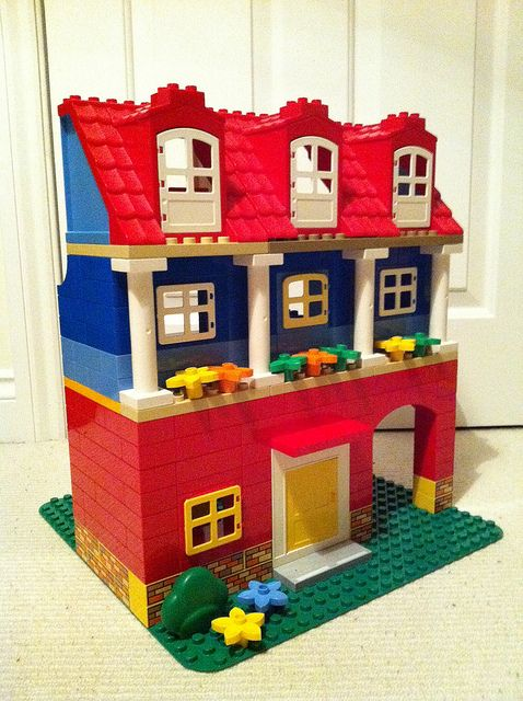 Lego Duplo house | Flickr - Photo Sharing!