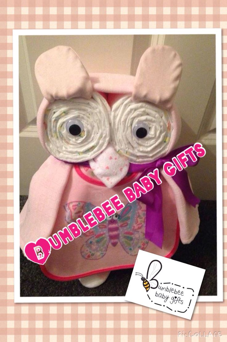 Nappy owl for a girl