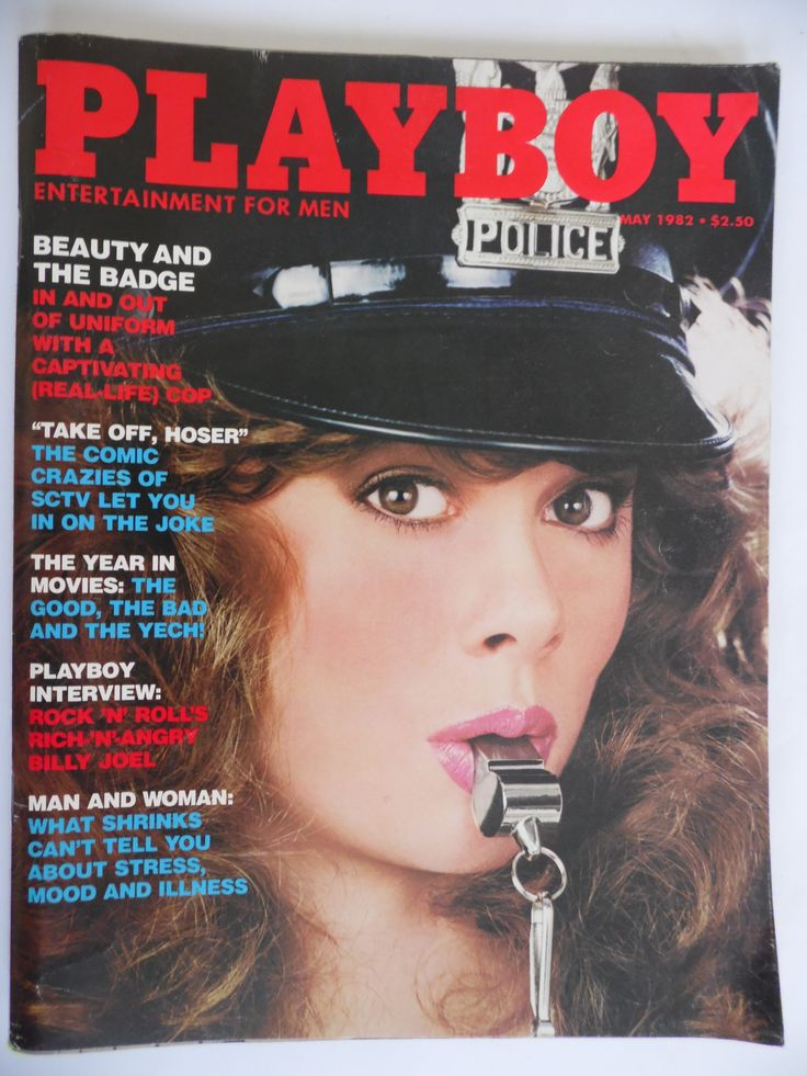 Mature, Playboy Magazine May 1982 Playmate Kym Malin, Interview with Billy Joel by theposterposter on Etsy