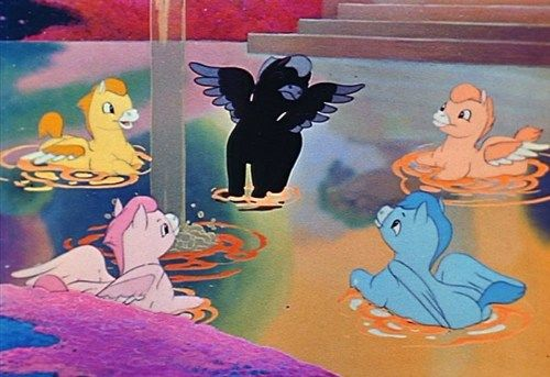 Disney Fantasia- Beethoven's Pastoral Symphony: this always made me smile :)