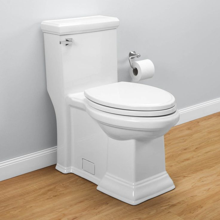 Town Square Right Height Flowise Elongated 1 Piece Toilet