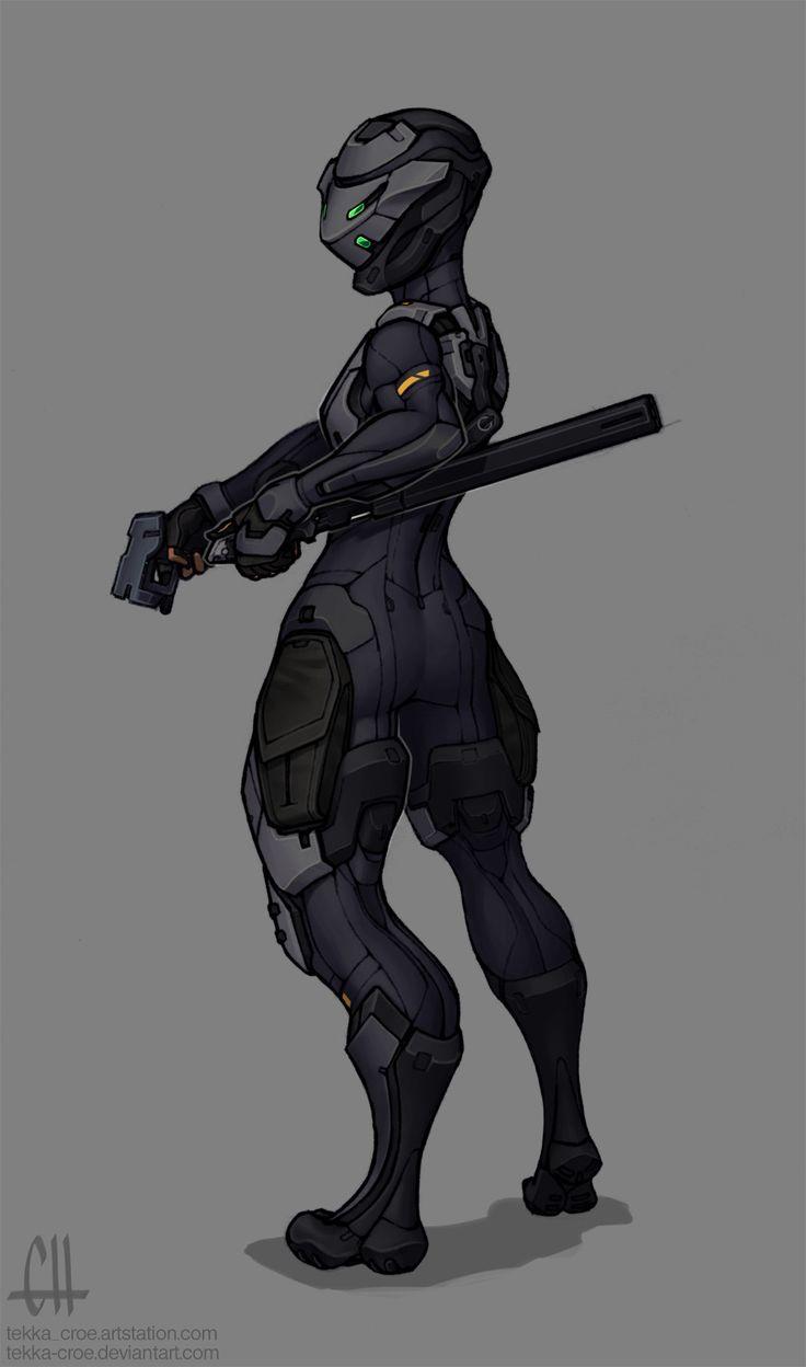 ArtStation - Reina's Armor (2016), Geoff Herndon