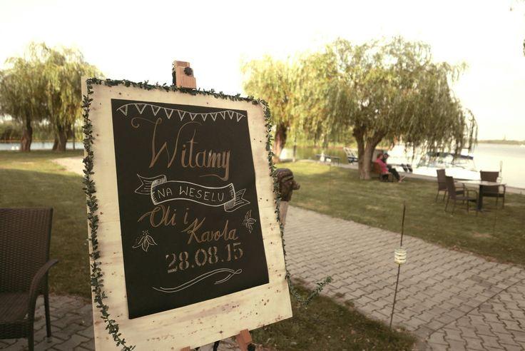 Wedding DIY- Greeting sign