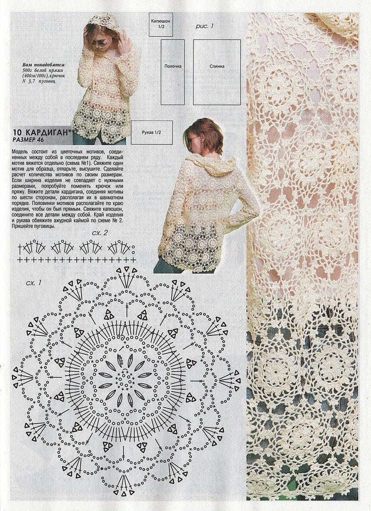 Lujoso Patrón De Tapa De La Cosecha Crochet Fotos - Manta de Tejer ...