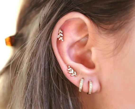 triangle arrow earrings brackets studs Gold V stud earrings dainty tiny jewelry everyday outdoor wear simple minimalist gold earrings