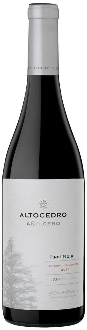"""""""Altocedro Año Cero"""" Pinot Noir 2015 - Bodega Altocedro, San Carlos, Mendoza-----------------Terroir: La Consulta (San Carlos)----------Crianza: 10 meses en barricas de roble francés"""