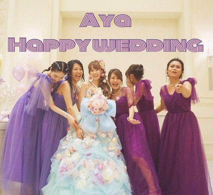 ☪️��Aya happy wedding��☪️ 小学生の頃からの親友の結婚式で、 皆でブライズメイドをしたよ�� 小さな頃からお姫様になりたかった彼女は、本物のお姫様になりました���� 夢が叶う瞬間に立ち会えた事に感謝。 そして久しぶりの6人は幸せだったな�� あやぴがいつまでも幸せに過ごせますように��幸  #wedding#happywedding#mary#bestfriends#bridesmaids#weddingdress#partyhair#model#japanesemodel#asianmodel#me#tokyo#東京#モデル#結婚式#ブライズメイド#変わらない皆が愛しい��#16年愛#優しい皆が好き��#もう半分が既婚者という事実#次は誰かな��#おばあちゃんになっても一緒だぞ��#��#�� #�� http://gelinshop.com/ipost/1524337111612216831/?code=BUniIbXl1X_