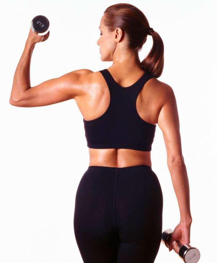 6 эффективных упражнений для борьбы с дряблостью рук.